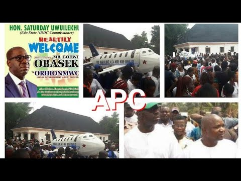 APC CORRUPT LEADER BOUGHT PRIVATE JET BOEING 777 FOR HIS FATHER AFTER HE DIE IN EDO EDO STATE NIGERI