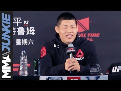 Li Jingliang full post-UFC Fight Night 122 press conference
