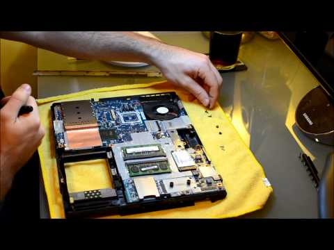 Tutorial: How to make an old laptop run cooler- Cleaning the fan and applying better thermal paste
