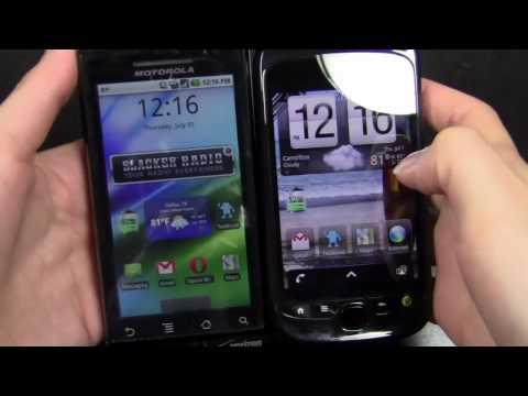 Motorola Droid vs myTouch 3G Slide Part 1