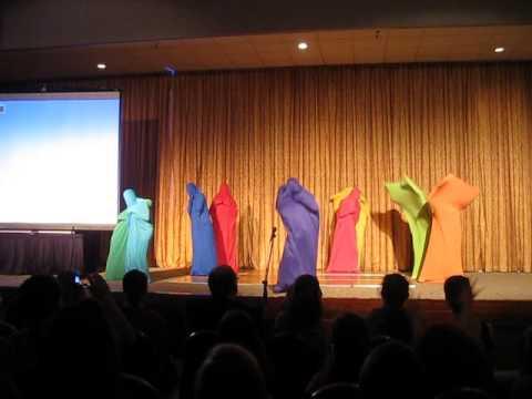 Color Blob Dance LDSHE 2015