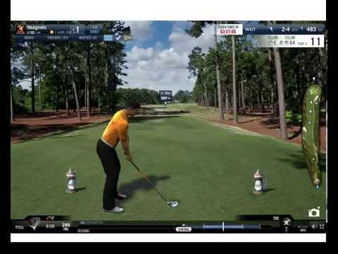 WGT World Golf Tour 27 with a slow meter Hack ball