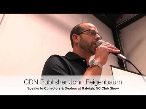 CDN Presents at Raleigh Coin Club Show