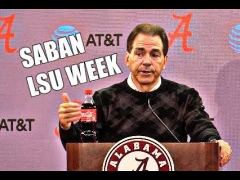 "Alabama Crimson Tide Football: Nick Saban says LSU Tigers are an ""Elite"" type team"