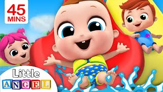 Download Playtime at the Waterpark | Playground Song | Little Angel Nursery Rhymes Mp3 and Videos