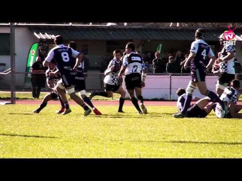 Rugby Fédérale 1 USRP vs BOURG EN BRESSE 26 03 2016