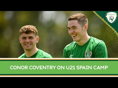 Interview   #IRLU21 midfielder Conor Coventry talks ahead of Spain training camp