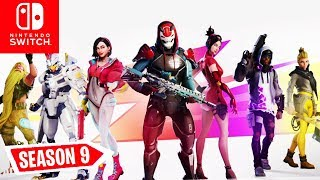 🔴 SEASON 9! Battle Pass, NEW Map & ALL News | Fortnite Switch