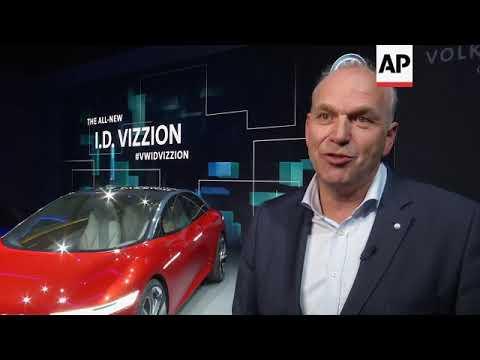 Volkswagen reveals its latest autonomous electric concept car
