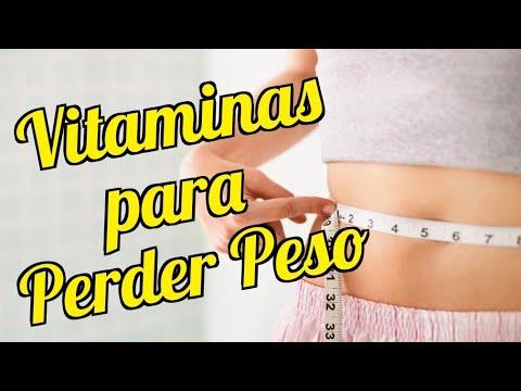 que vitaminas tomar para perder peso