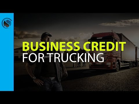 How Over the Road Truckers Can Get Business Credit Linked to Their EIN