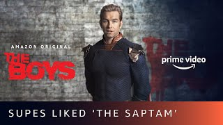 The Boys liked 'The Saptam', did you?   Message for India from the American Supes Amazon Prime Video