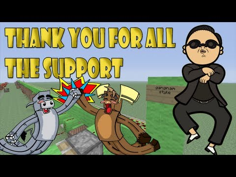 Minecraft Xbox 360 - Psy Gangnam Style Noteblock song + Download (Thank you everyone!)