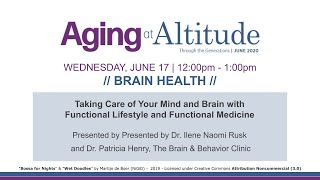 Brain Health - Aging at Altitude June 2020