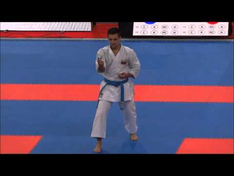 Kata ANAN by Antonio Diaz - 21st WKF World Karate Championships