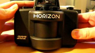 Horizon 202 Panoramic Camera - Shutter Action