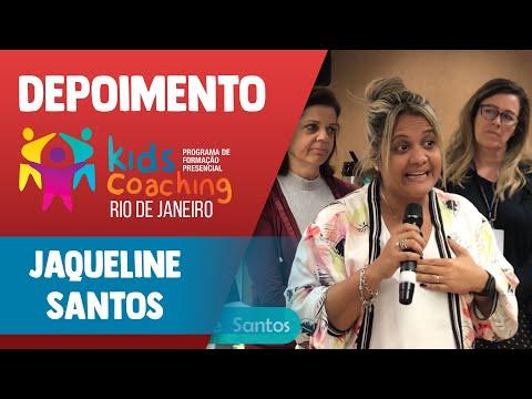 Kids Coaching Presencial Rio de Janeiro - Depoimento Jaqueline Santos