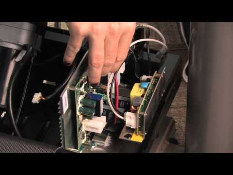 Dc treadmill motor controller explained belt grinder doovi for How to test treadmill motor control board