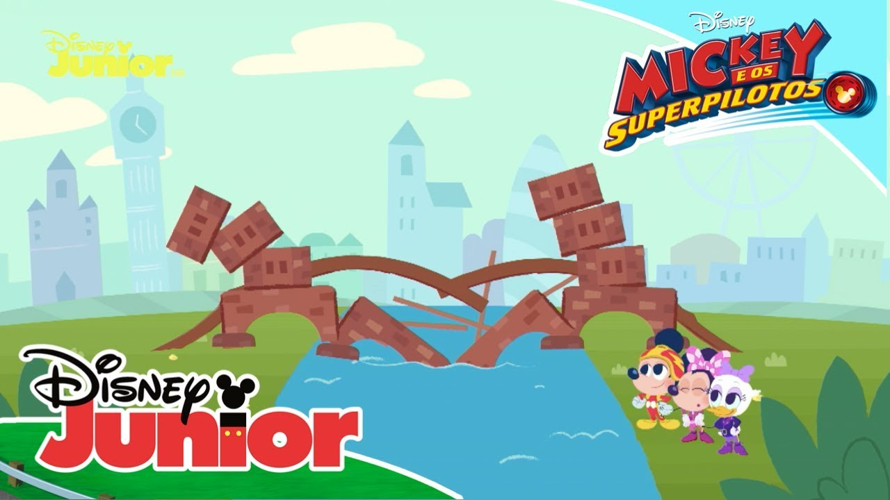 Mickey E Os Superpilotos Cancoes Infantis A Ponte De Londres