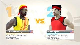 Virtua Tennis 2009 Online Singles live play