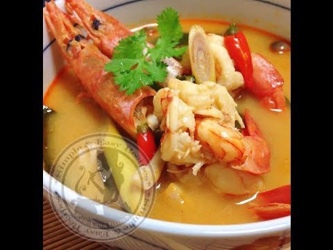 วิธีทำต้มยำกุ้งน้ำข้น Tom Yum Goong