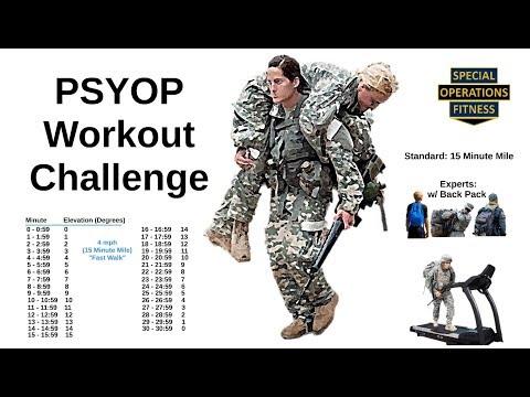PSYOP Workout Challenge