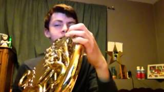 The SUPERMAN THEME SONG ON FRENCH HORN
