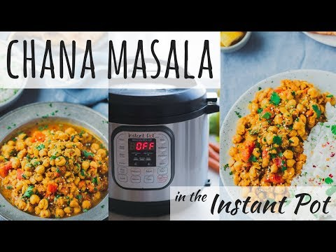 INSTANT POT CHANA MASALA | Instant Pot Indian Recipe