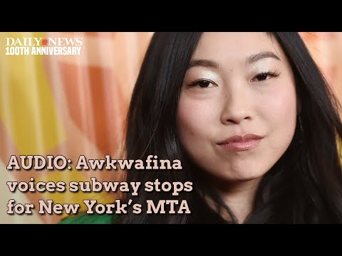 AUDIO: Queens native Awkwafina voices the No. 7 subway train
