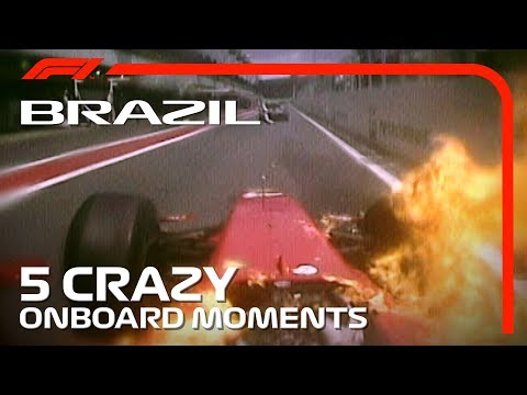 5 Crazy Onboards | Brazilian Grand Prix