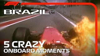 5 Crazy Onboards | Brazilian Grand Prix