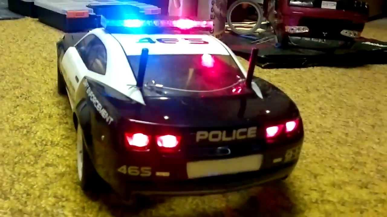 Chevrolet Camaro Police Car With Working Lights Youtube