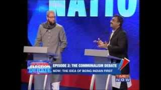 Great answer to Owaisi by Ram Madhav on Arnab debate - India, pluralism, hindu etc