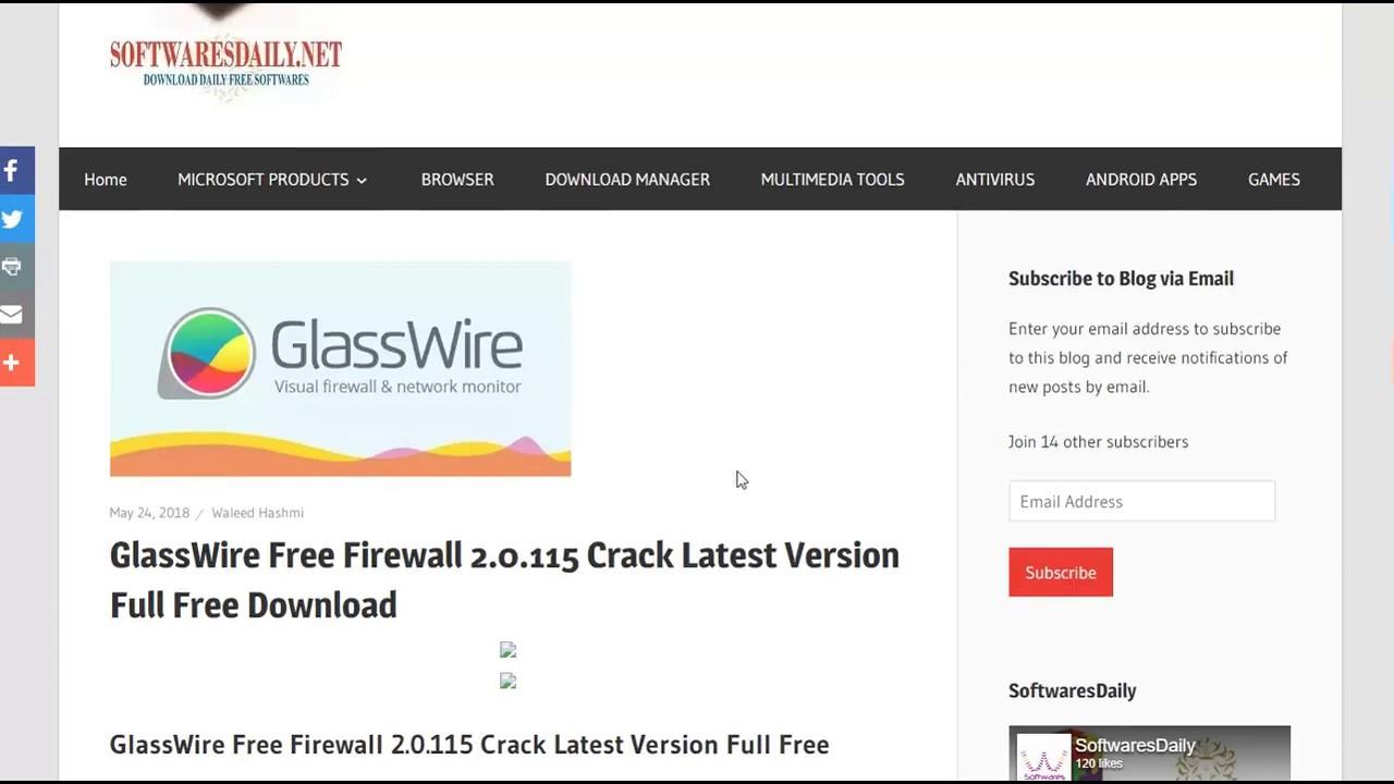 glasswire free firewall download