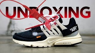 "Unboxing и обзор коллаборации Off-White x Nike Air Presto ""The Ten"""