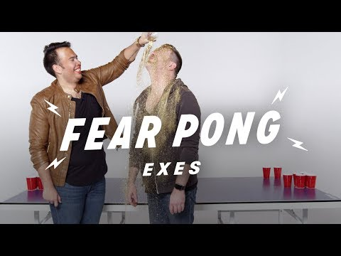 Exes Play Fear Pong Travis & Jacob  Fear Pong  Cut