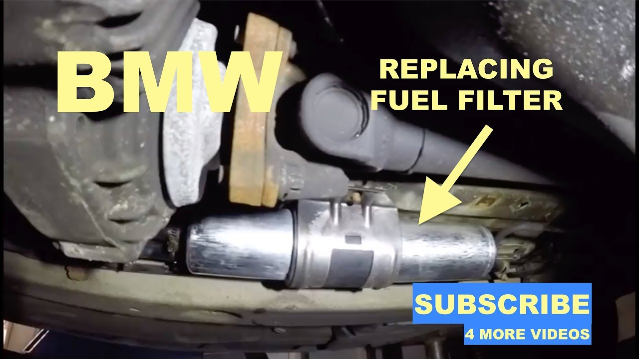 replacing fuel filter on bmw 3 series - youtube  youtube
