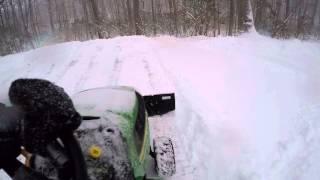 John Deere D140 Agri Fab plow