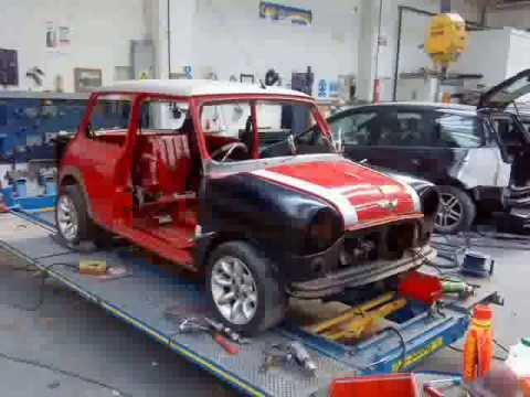 Classic Mini Cooper SportsPack Restoration