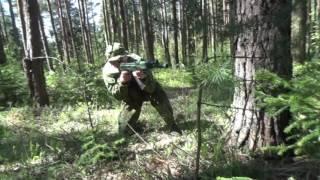 Принятие положения лежа сходу. Tactic PRO Minsk