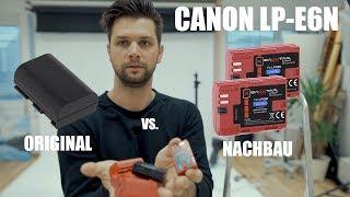 Canon LP-E6N |  Nachbau oder Original | Akku für 5D, 6D, 7D, EOS R etc.