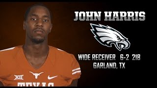 Highlights of Texas WR John Harris [May 3, 2015]