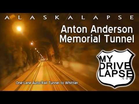 Anton Anderson Tunnel to Whittier, Alaska: Driving It!