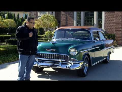 1955 Chevy Bel Air Resto Mod Classic Muscle Car for Sale in MI Vanguard Motor Sales