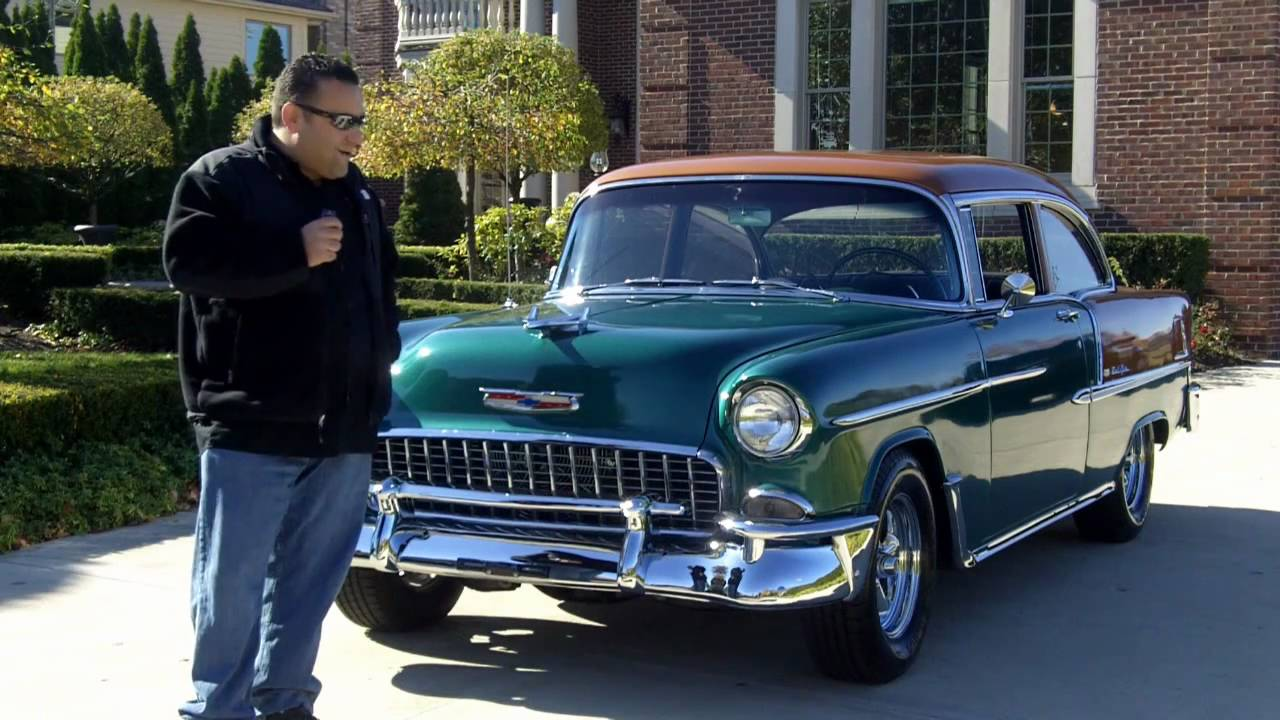 Resto Mod Cars For Sale: 1955 Chevy Bel Air Resto Mod Classic Muscle Car For Sale