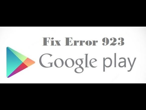 how to fix google play error 920