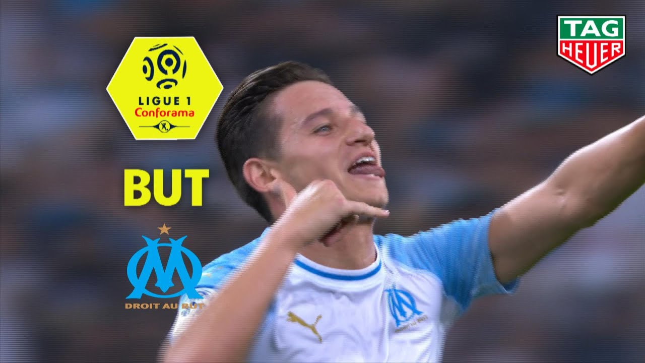 but florian thauvin 80 39 olympique de marseille ea guingamp 4 0 om eag 2018 19 youtube. Black Bedroom Furniture Sets. Home Design Ideas