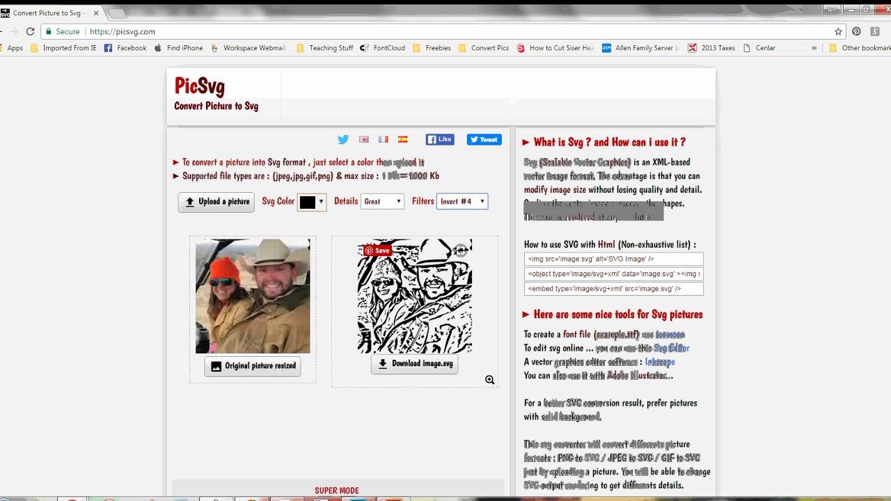 Picsvg Convert A Photo To An Svg Youtube ℹ️ picsvg > convert online picture to svg freely. picsvg convert a photo to an svg