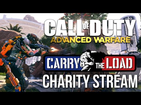 Call of Duty: Advanced Warfare Charity Stream for Carry The Load