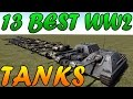 Men of War Assault Squad 2 - 13 WW2 Best Tanks Battle - Editor Scenario #41